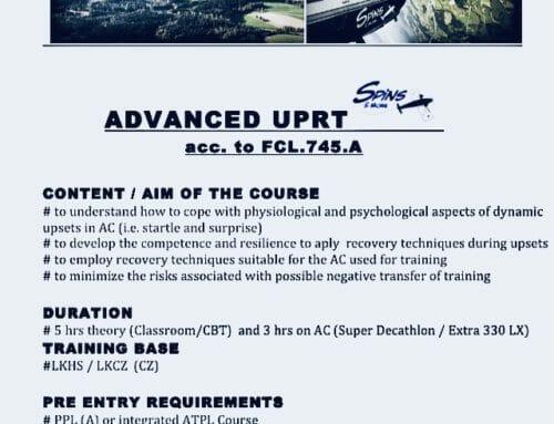 UPRT advanced – was heißt das?