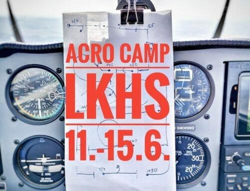 ACRO Trainingscamp im Juni